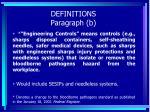 definitions paragraph b23