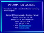 information sources107