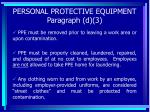 personal protective equipment paragraph d 363