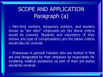 scope and application paragraph a12