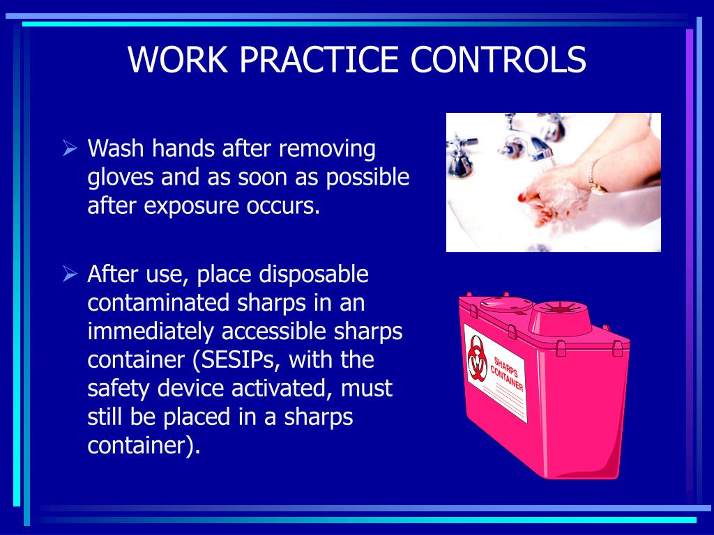 Wash hands after removing gloves and as soon as possible after exposure occurs.