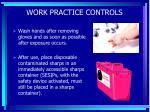 work practice controls54