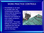 work practice controls56