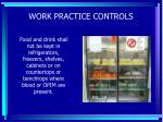 work practice controls58