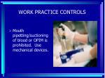 work practice controls60