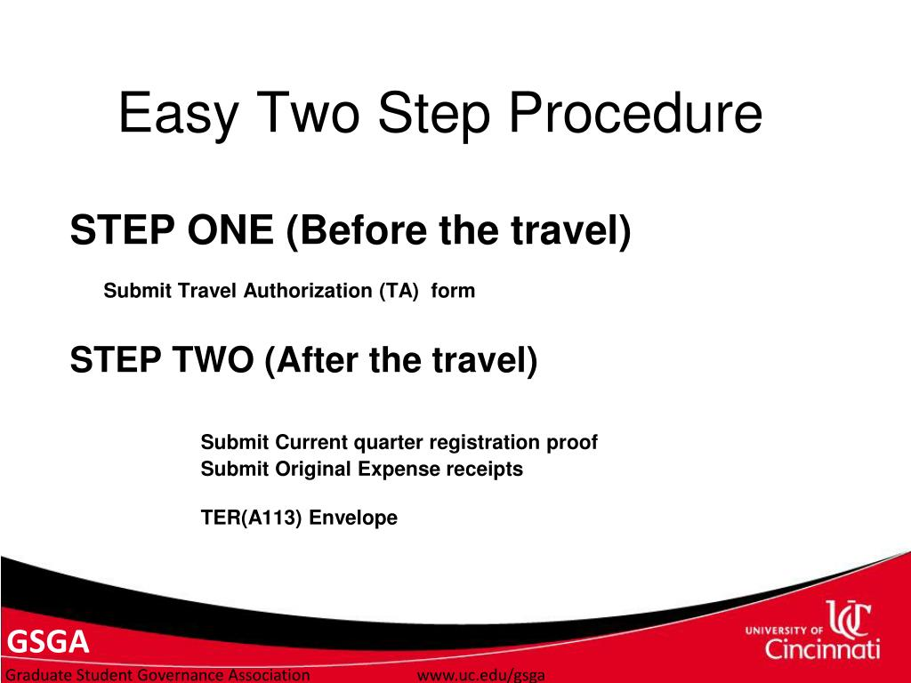 Easy Two Step Procedure