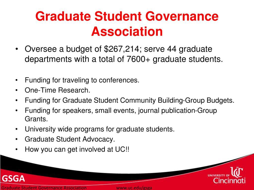 Graduate Student Governance Association