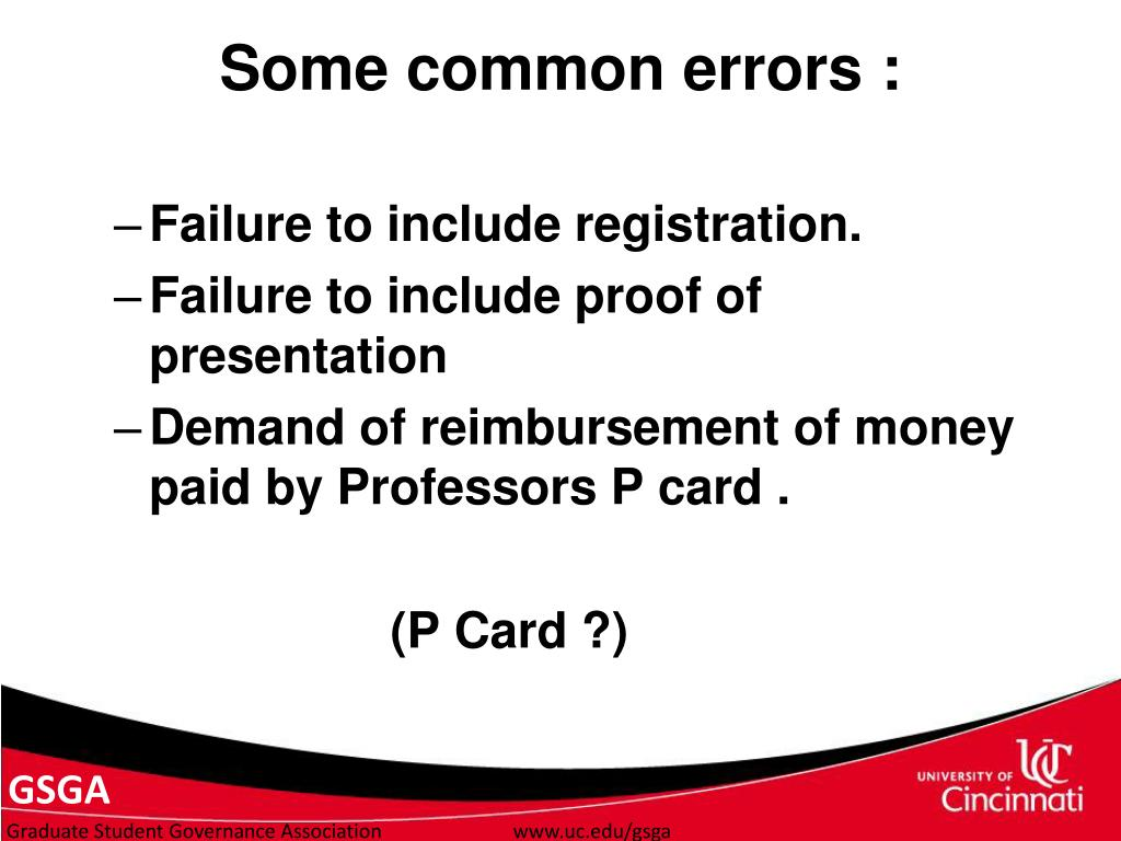 Failure to include registration.