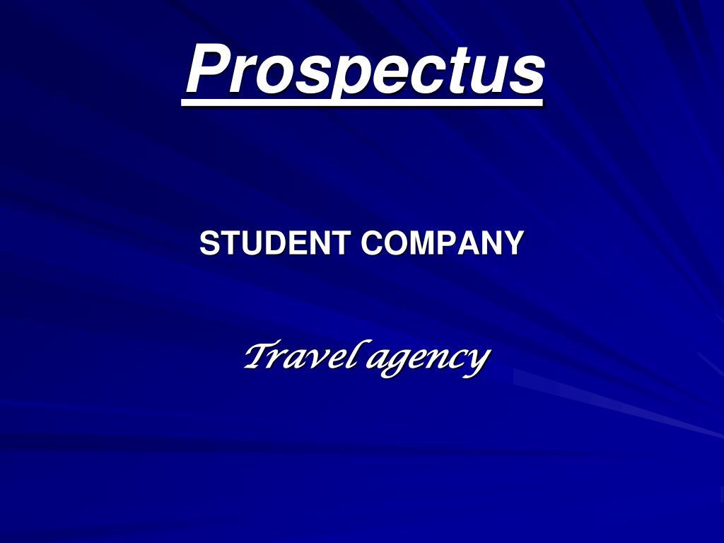 prospectus l.