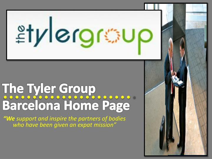 the tyler group barcelona home page n.