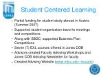 student centered learning9