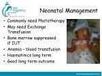 neonatal management