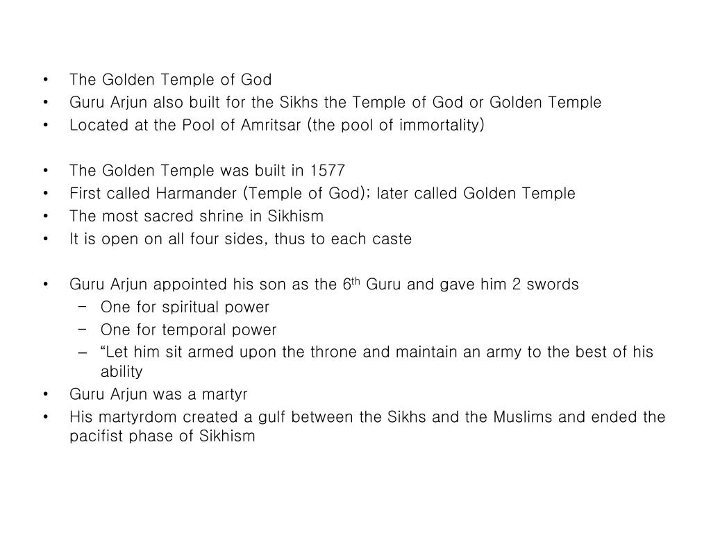 The Golden Temple of God