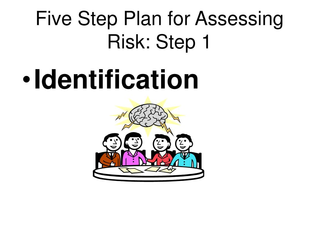 Five Step Plan for Assessing Risk: Step 1