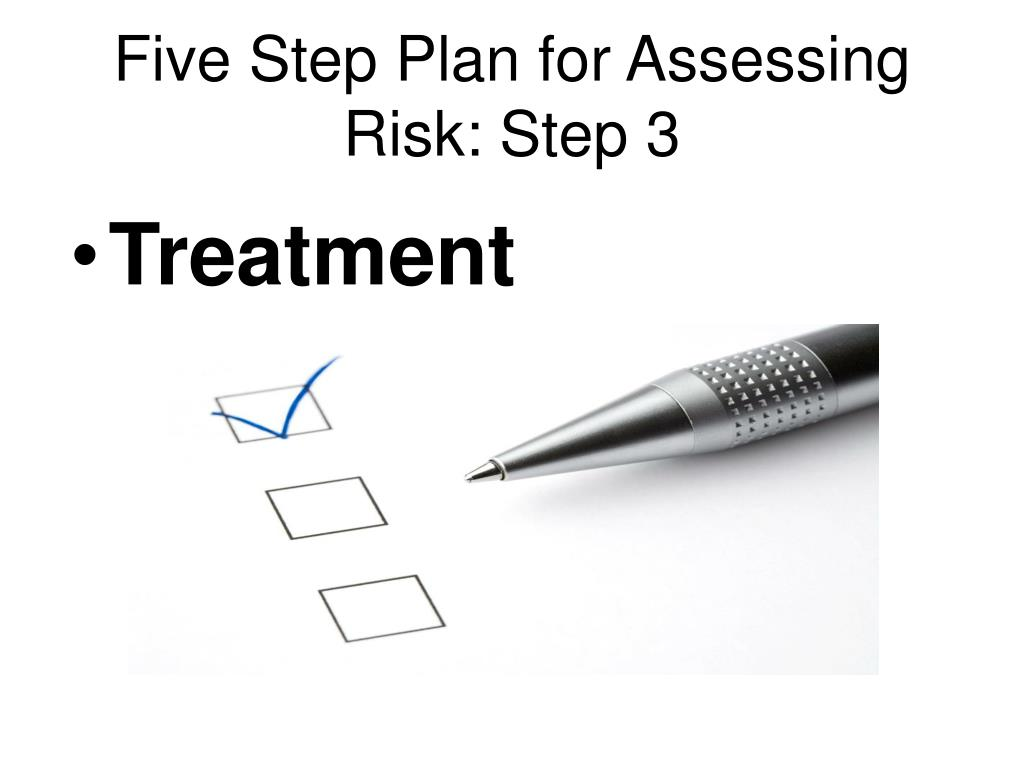 Five Step Plan for Assessing Risk: Step 3