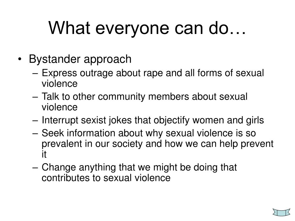 What everyone can do…