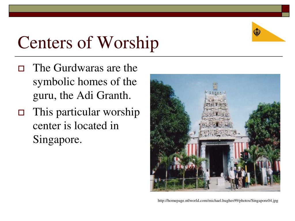 Centers of Worship