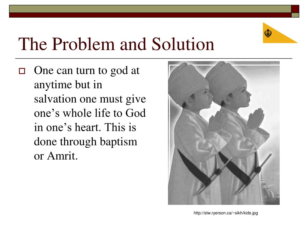 The Problem and Solution