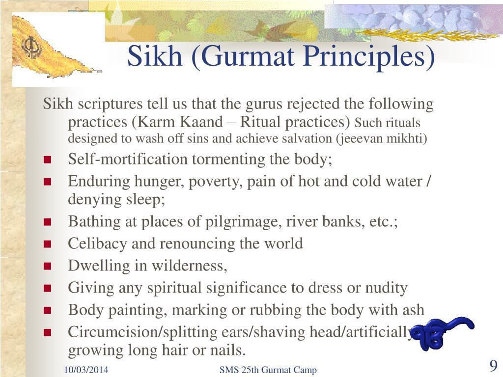 Sikh (Gurmat Principles)