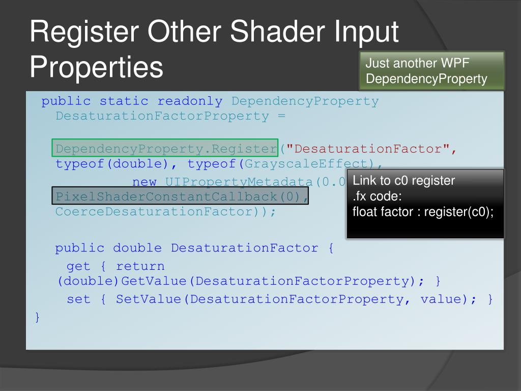 PPT - WPF Pixel Shaders PowerPoint Presentation - ID:623459