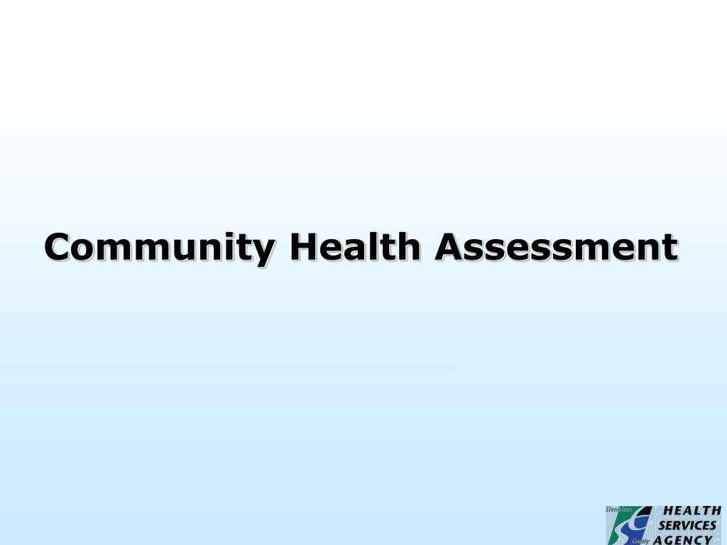community health assessment l.