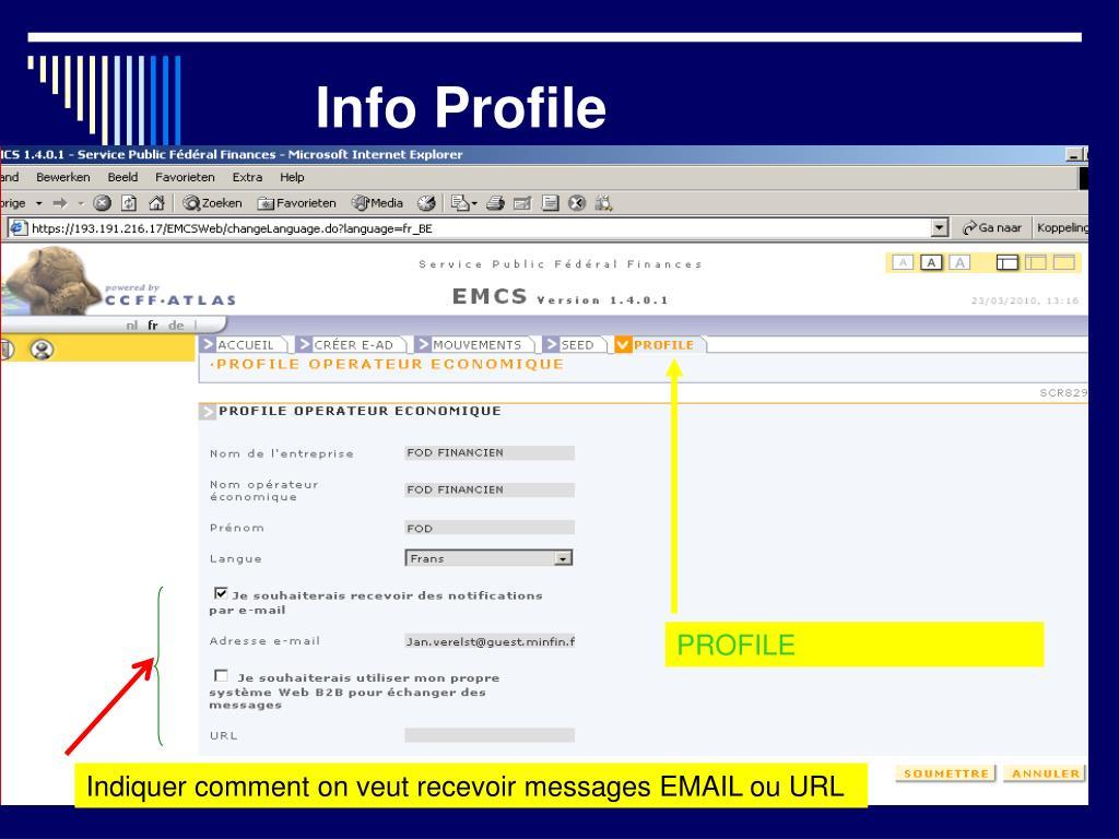 Info Profile