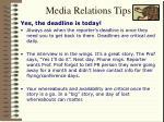 media relations tips11