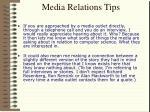 media relations tips15