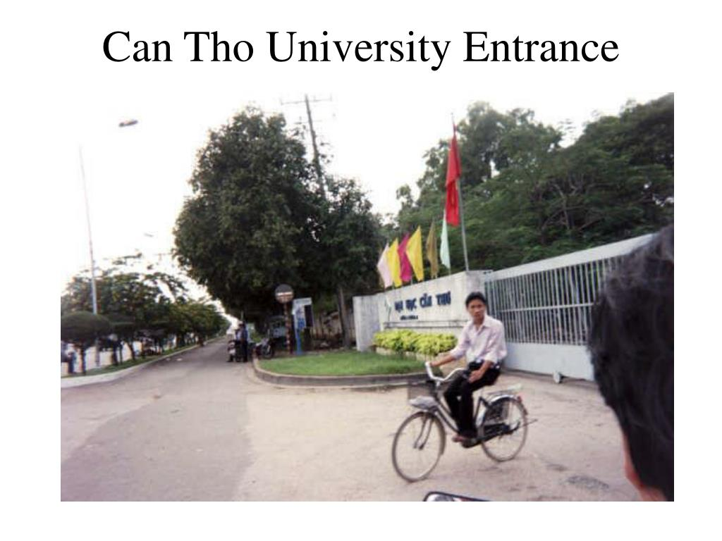can tho university entrance l.