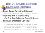 item 34 emulate extensible enums with interfaces