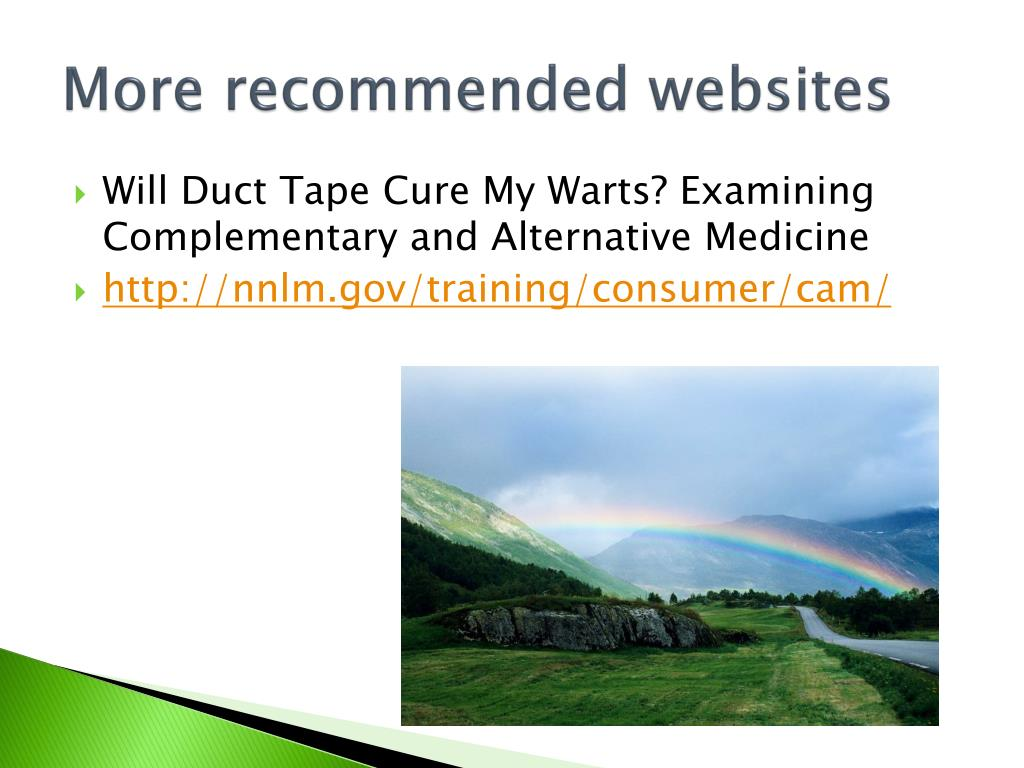 More recommended websites