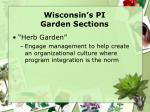 wisconsin s pi garden sections7