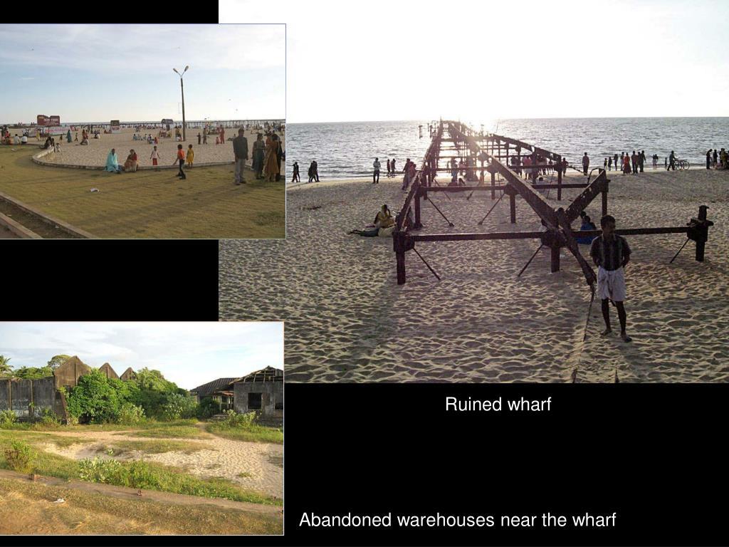 Ruined wharf