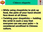chinese etiquette