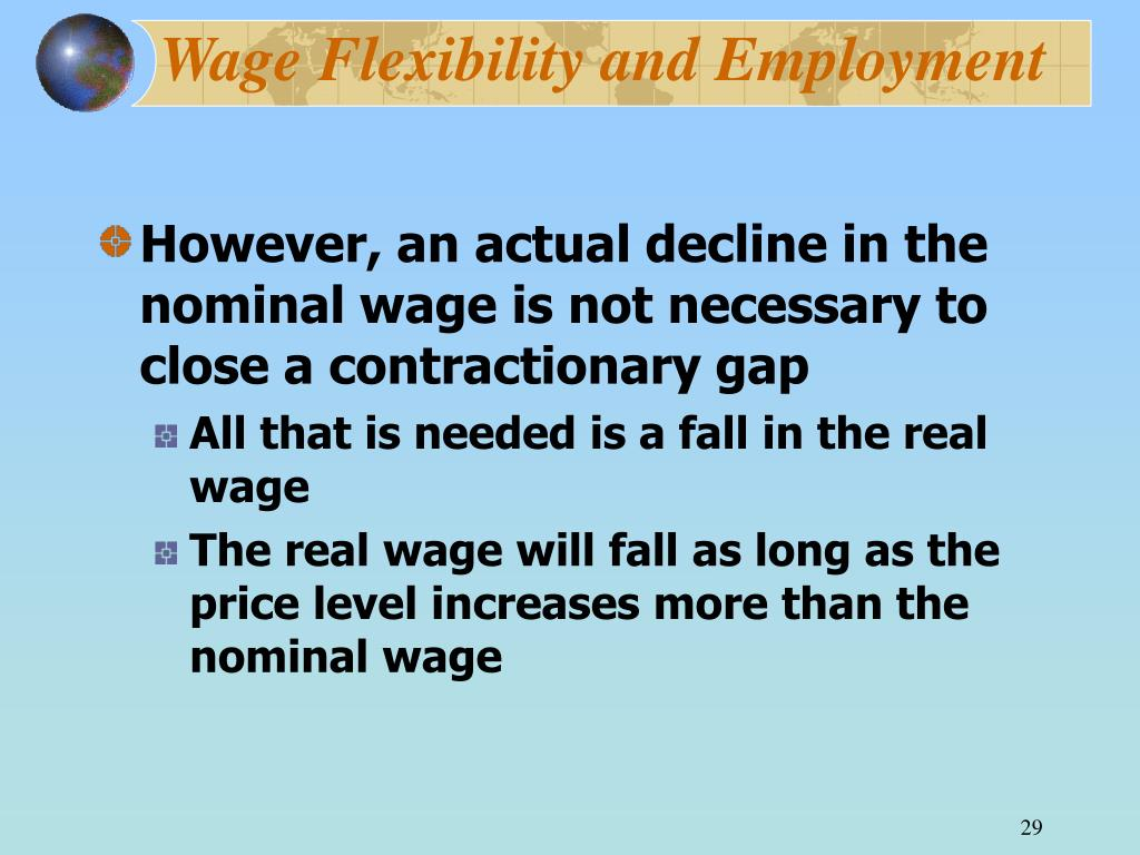 Wage Flexibility and Employment