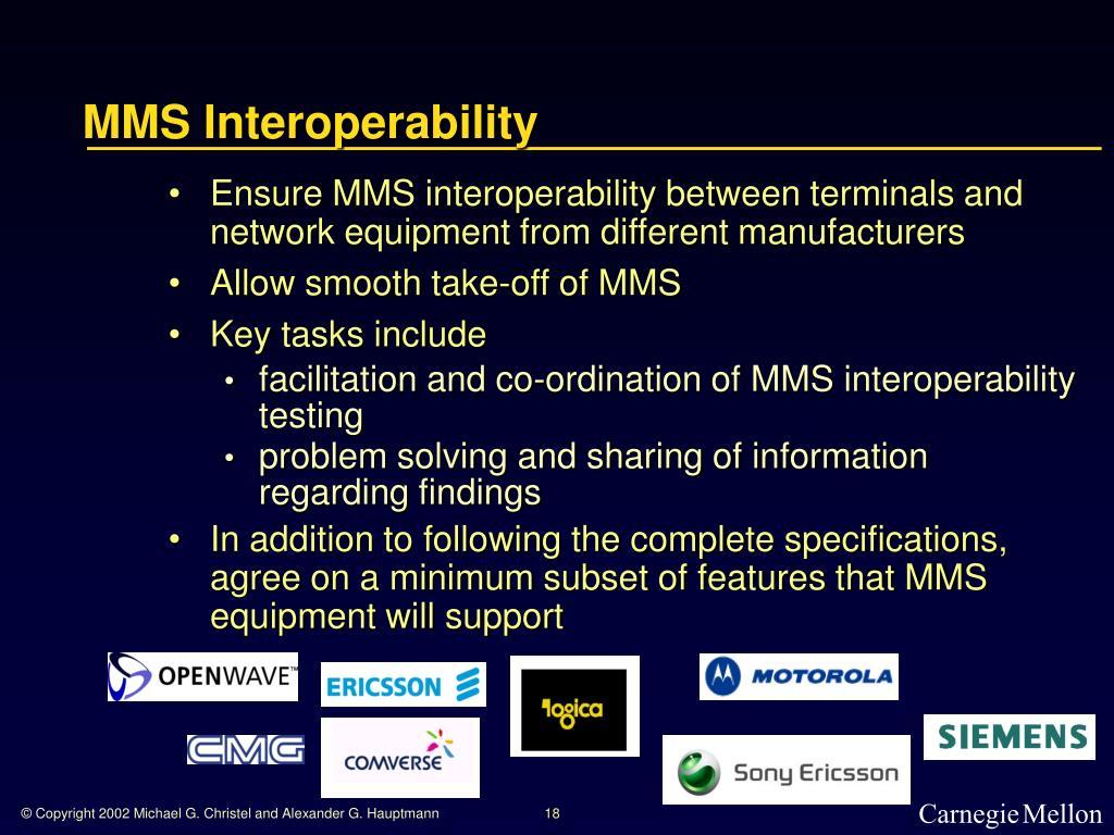 MMS Interoperability