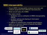 mms interoperability