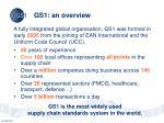 gs1 an overview