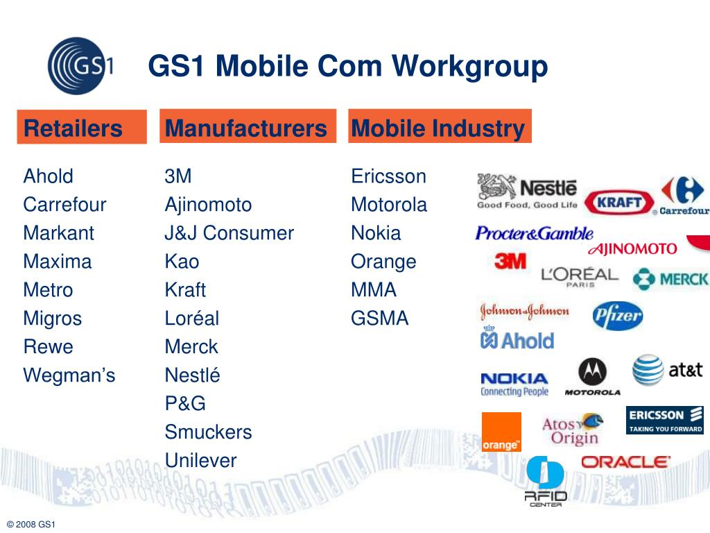 GS1 Mobile Com Workgroup