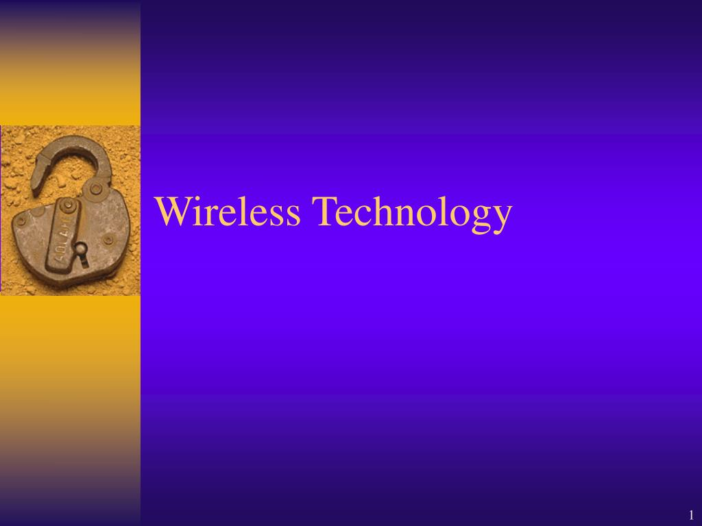 wireless technology l.