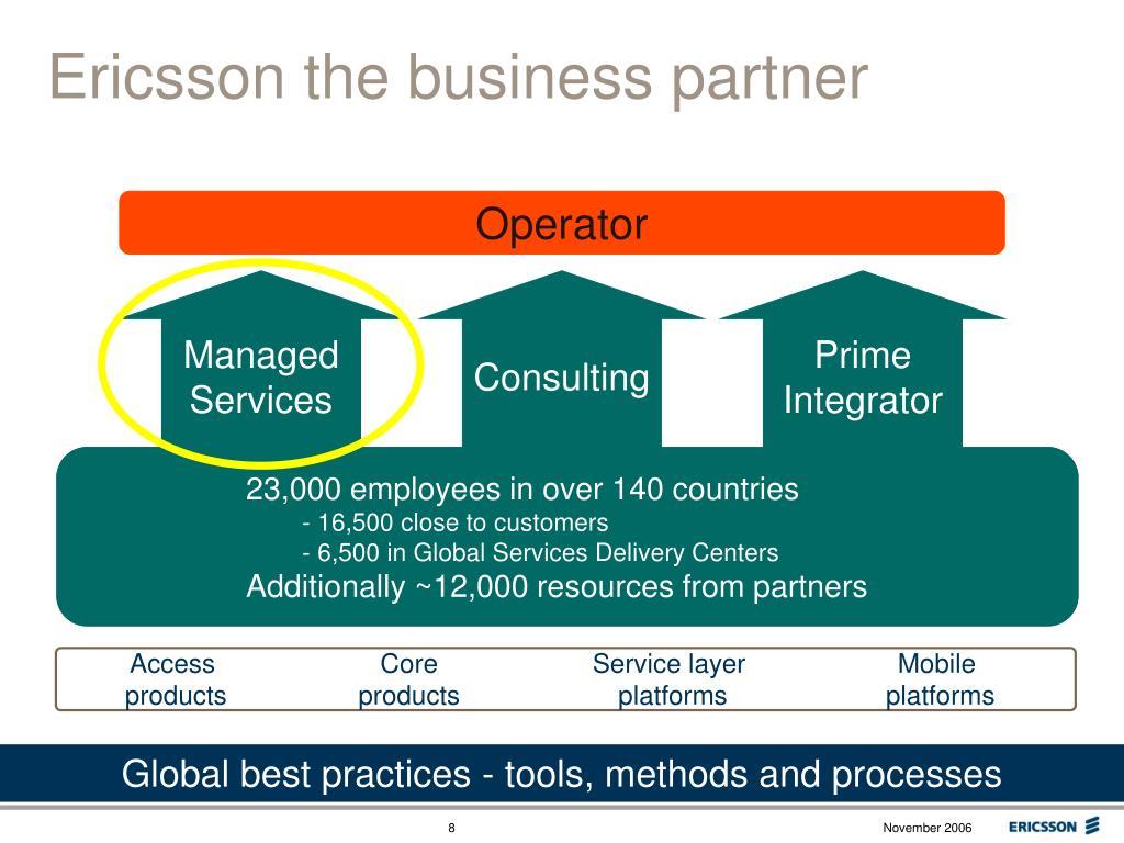 Ericsson the business partner
