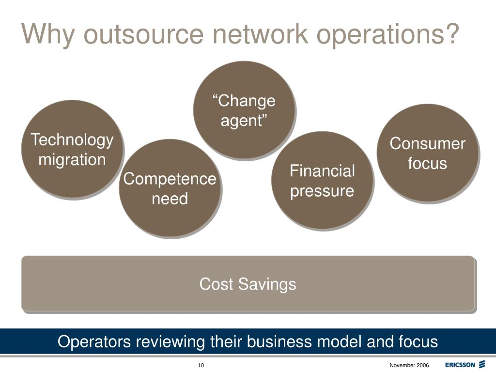 Why outsource network operations?