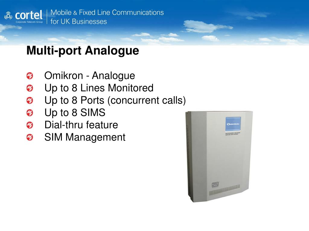 Multi-port Analogue