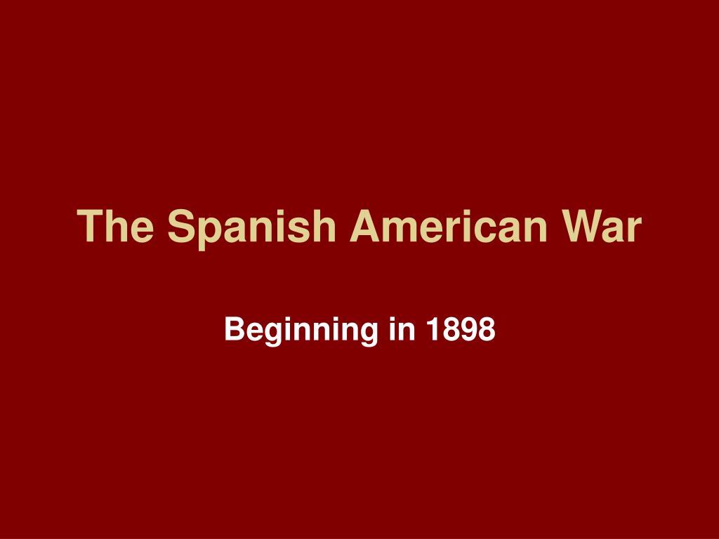 the spanish american war l.