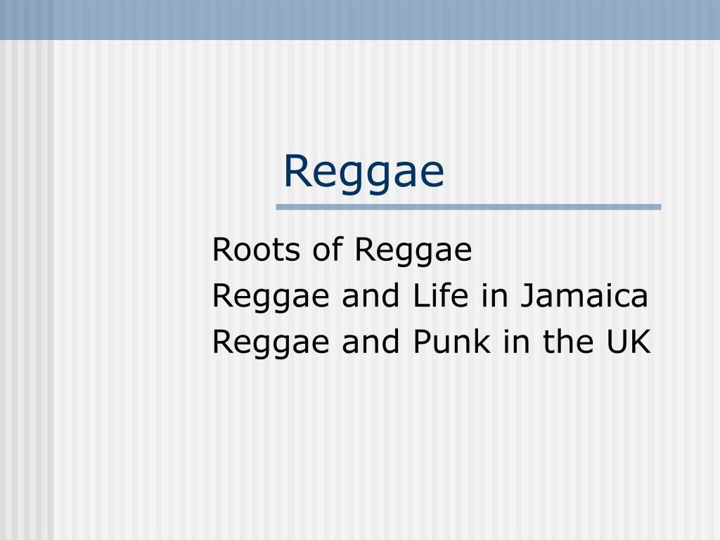reggae l.