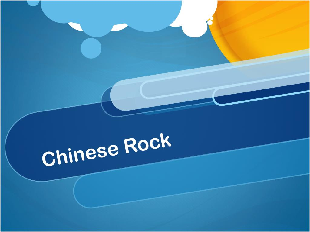 chinese rock l.