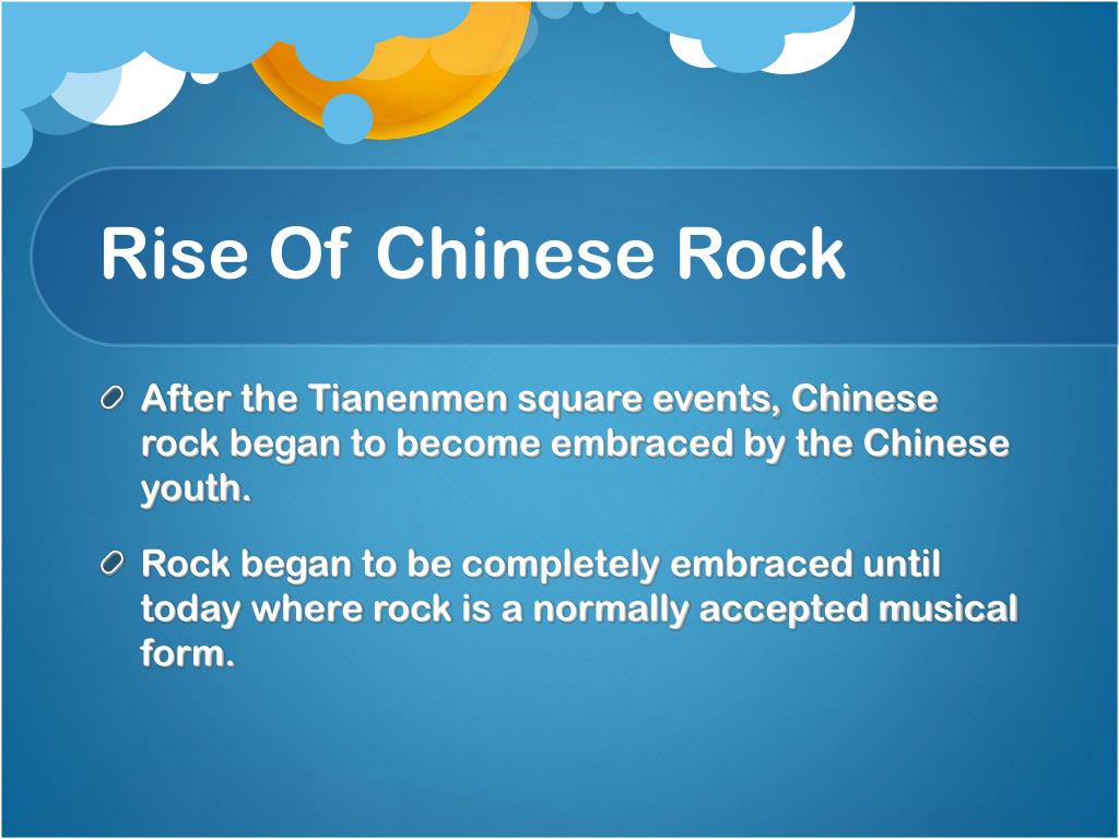 Rise Of Chinese Rock