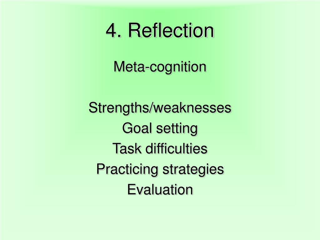 4. Reflection