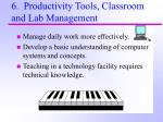 6 productivity tools classroom and lab management