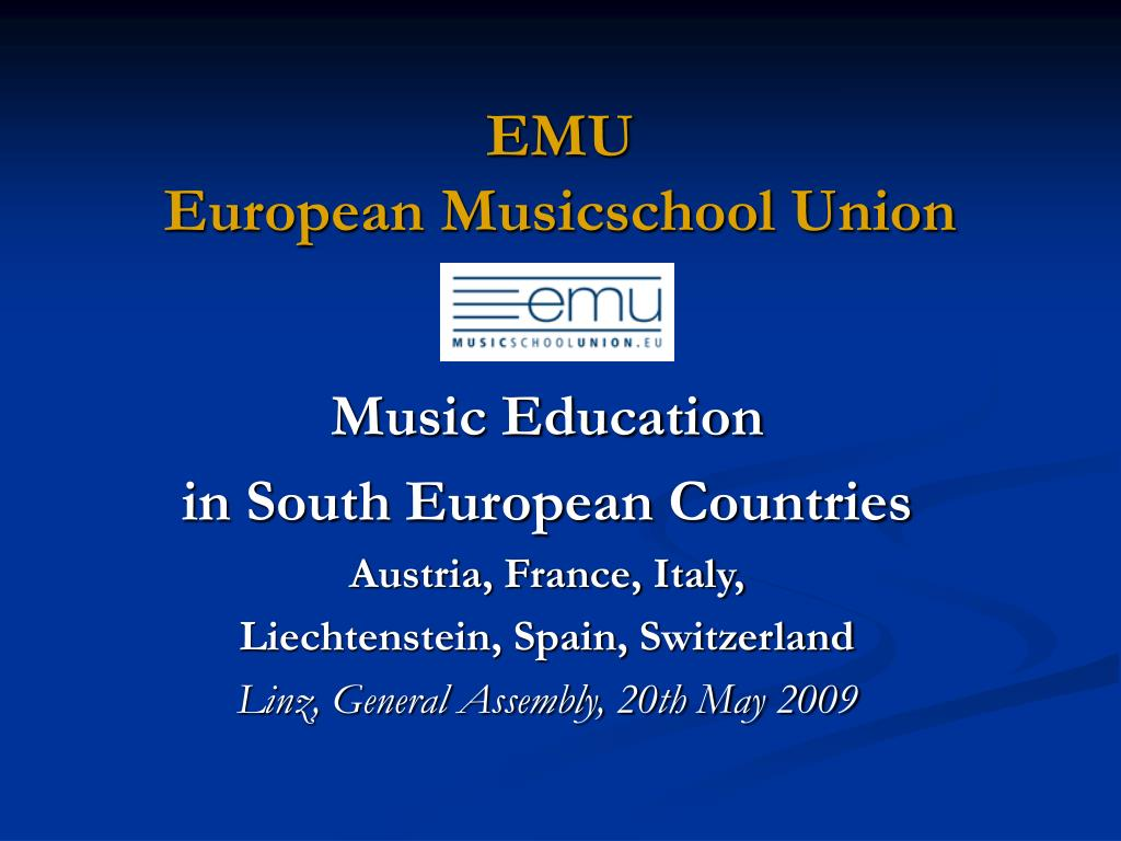 emu european musicschool union l.